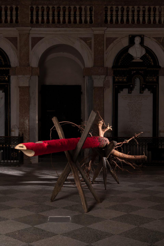 Biennale Bregaglia 2020 – Sonja Feldmeier, Coming Home, 2020; Bild © Yanik Bürkli, CLUS AG