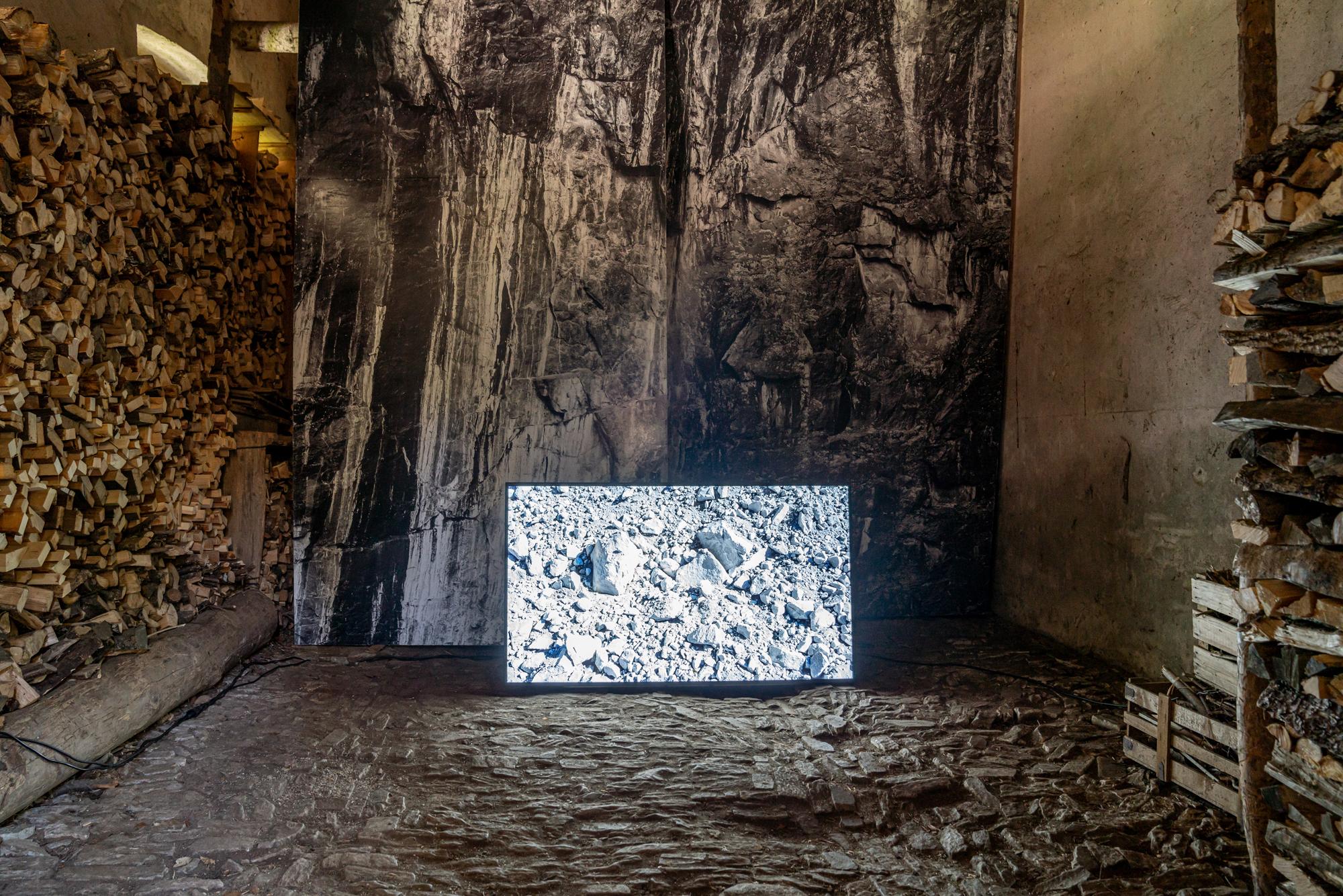 Biennale Bregaglia 2020 – Patrick Rohner, Die Natur kennt keine Katastrophen, 2020; Bild © Yanik Bürkli, CLUS AG