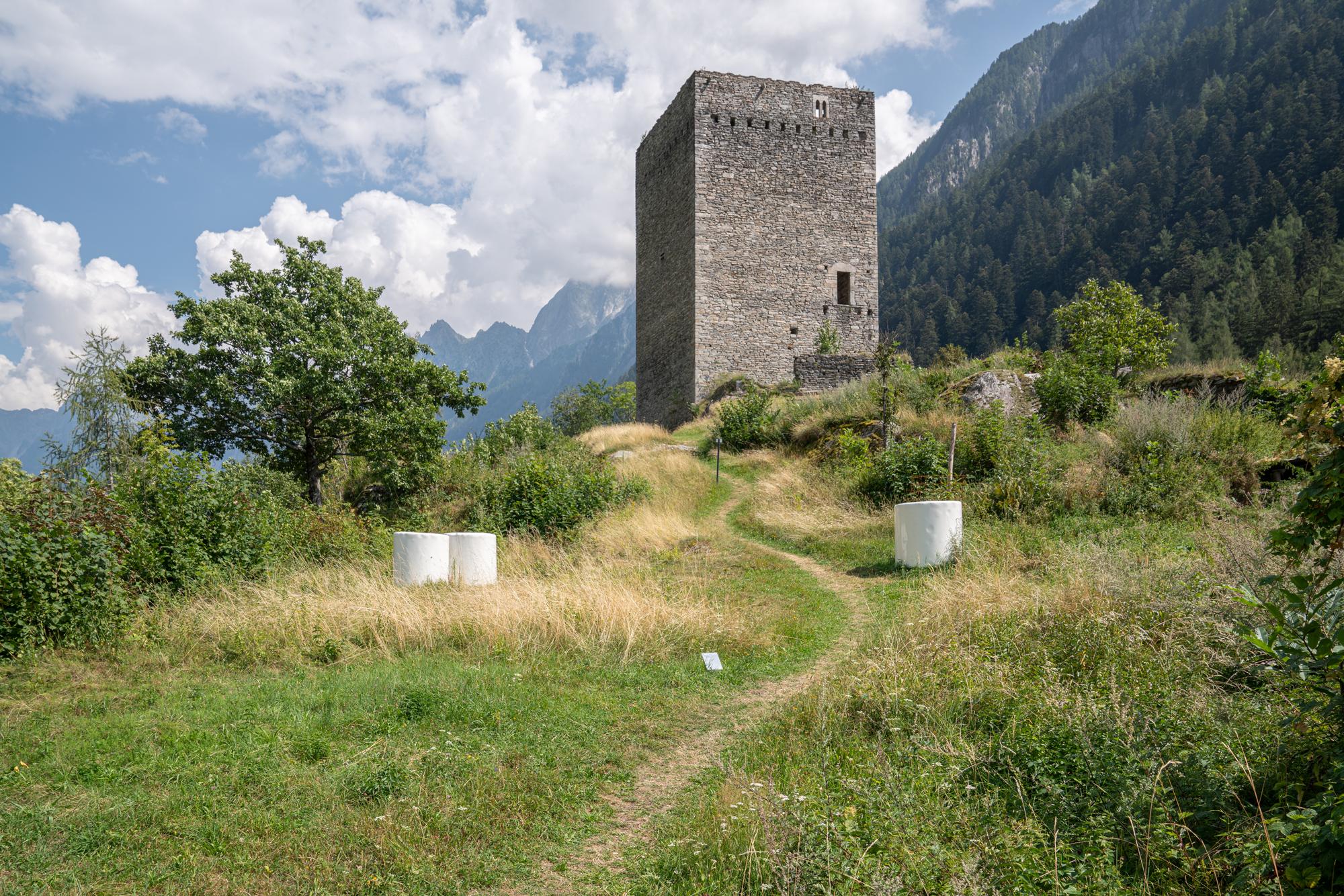 Biennale Bregaglia 2020 – Not Vital, Bale, 2018; Bild © Yanik Bürkli, CLUS AG